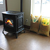Photo of a pellet stove by U