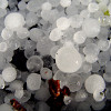 Photo of hail by carterboy/sxc.hu.