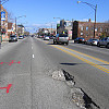 Photo of potholes in Chicago by DDohler/Flickr.