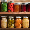 Photo of glass canning jars by YinYang/istockphoto.com.