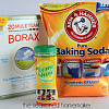 Ingredients for DIY dishwasher detergent