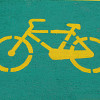 Photo of a bicycle symbol by CBR1000/sxc.hu.