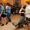 A contra dance at the Guiding Star Grange. Photo via Guidingstargrange.org.