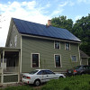 The Grocoff's zero net energy house. Photo by the author, green building consultant Carl Seville.