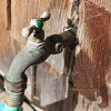 Turn off the tap for water savings. (Photo by the author, s.e. smith.)