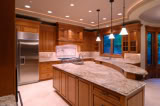 recessed lights kitchen2