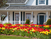 Photo of a beautiful house in spring by onepony/istockphoto.com