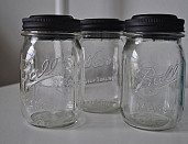 DIY Mason jar solar lights by Melissa @ Keep Calm and Decorate via Hometalk.com.