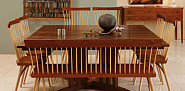 High end carpentry furniture by Thos. Moser via Thosmoser.com
