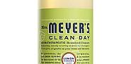Mrs. Meyer's Clean Day All Purpose Cleaner in Lemon Verbena. Photo via MrsMeyers.com