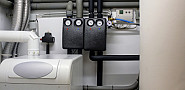Photo of a modern boiler room by frankoppermann/istockphoto.com.