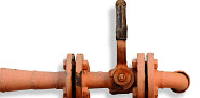 Photo of rusty pipe by Topfer/sxc.hu.