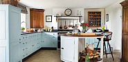 This cabinetry is by British company Chalon via Flickr.