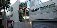 Photo of a contemporary concrete block house by Wonderlane/Flickr Creative Commons.