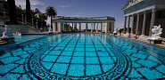 The pool at Hearst castle photographed by Adam Verwymeren