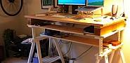 A standing desk.  zappowbang/Flickr