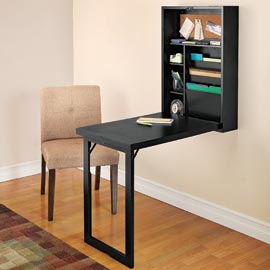 The Fold-Out Convertible Desk by Solutions