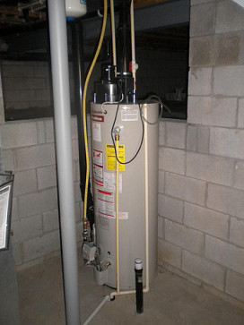 Photo of a water heater by Krystle with Homejobsbymom.com via Flickr.
