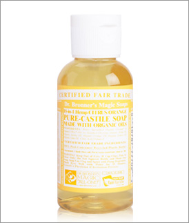 Dr. Bronner's soap via DrBronner.com