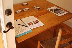 Tiny house plans under consideration. Photo: Nicholás Boullosa/Flickr