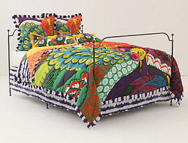 Photo and bedding: Anthropologie.com