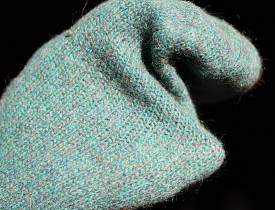 When all else fails, make a hand puppet from an old sock. Photo and hand puppet by s.e. smith.