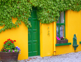 Go bright or go home. Would your HOA stand for this? (Photo: Mira Pavlakovic/sxc.hu)