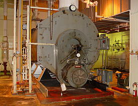 This oil boiler could run on a biofuel blend. (Photo: salem/iStockphoto.com)