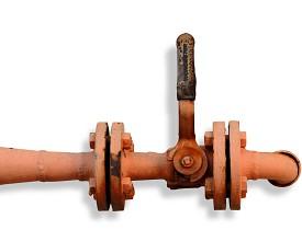 Photo of rusty pipe by Topfer/sxc.hu.