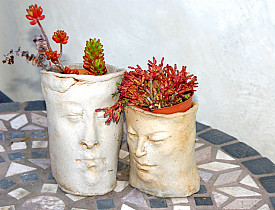 Planters That Look Like Heads Articles
