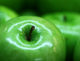 Photo of green apples by robby_m/sxc.hu.