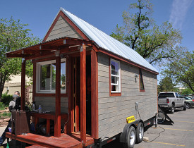Chris and Merete's tiny house
