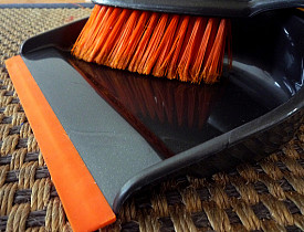 Tactics for cleaning when you're busy. Photo by rosmary/Flickr