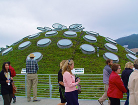 The green roof at the California Academy of Sciences. --Adam