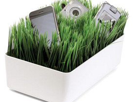 The Grass Charging Station from Kikkerland.com