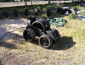 Another good way to recycle tires! (c.j.b./Flickr)