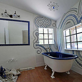 Bling Your Home With Glamorous Glass Tiles Articles