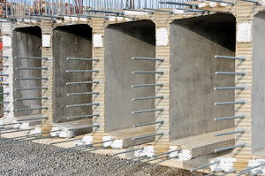 concrete overpass construction