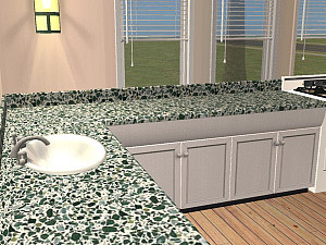 terrazzo countertop