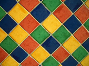 Grout colors