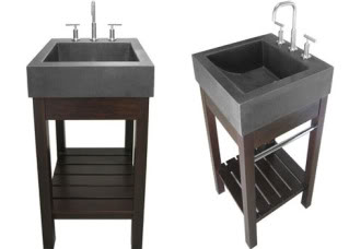 sink with pedestal