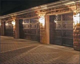 iron garage door