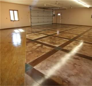 Concrete Floors Staining And Dyeing Articles