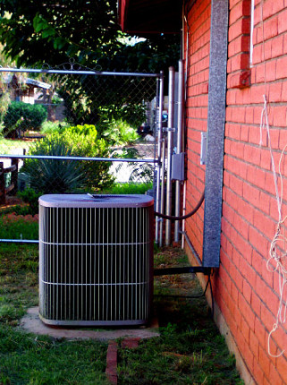 Photo of an air conditioner by cohdra/morguefile.com.