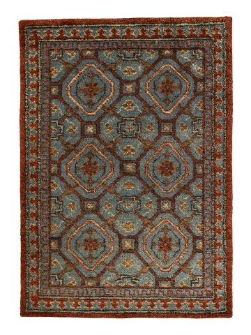 The Lancaster Rug by Ralph Lauren (via RalphLauren.com) is made of hemp.