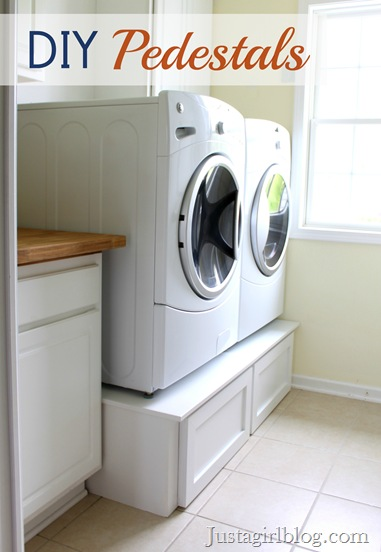 Five DIY Laundry Room Storage Ideas - Articles :: Networx