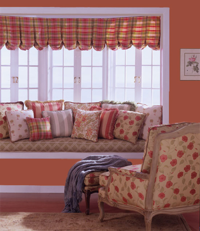 bay window balloon valance