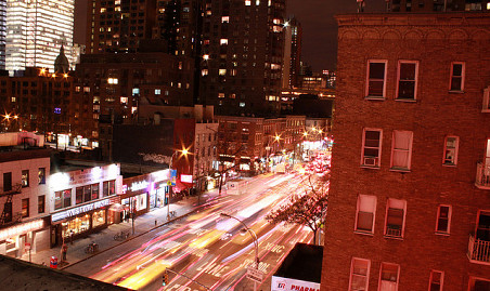 9th Avenue in Hell's Kitchen [Jack Zalium/Flickr]