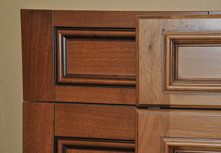 Door fronts.  Photo: KMS Woodworks