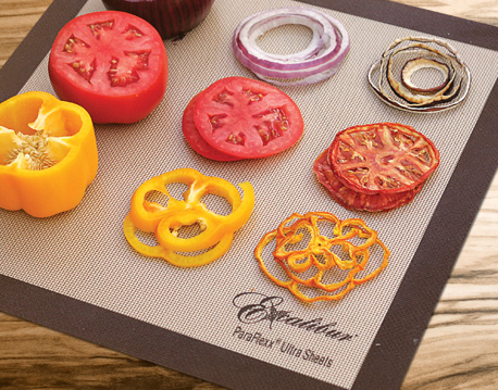 Gorgeous dehydrated vegetables! via ExcaliburDehydrator.com